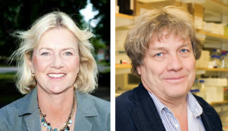 Anna Karlsson och Magnus Ingelman-Sundberg - Foto: KI och Medicinsk Access