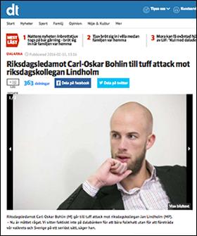 Carl-Oskar Bohlin - DT, 2016