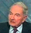 David Rockefeller - TV-bild