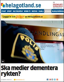 Eva Bofride - Ska medier dementera rykten?