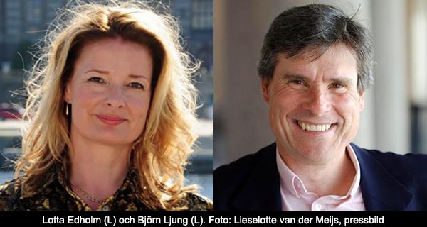 Lotta Edholm - Björn Ljung (L)