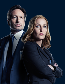 Moulder and Scully - X-files