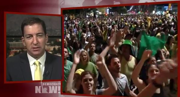 Glenn Greenwald om kuppförsöket i Brasilien, 2016