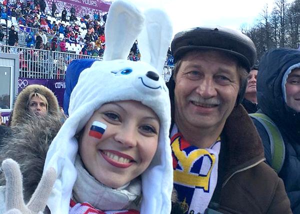 Lyckliga ryssar - Foto: NewsComAu