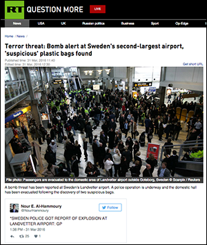 RT terrorhot Landvetter 2016