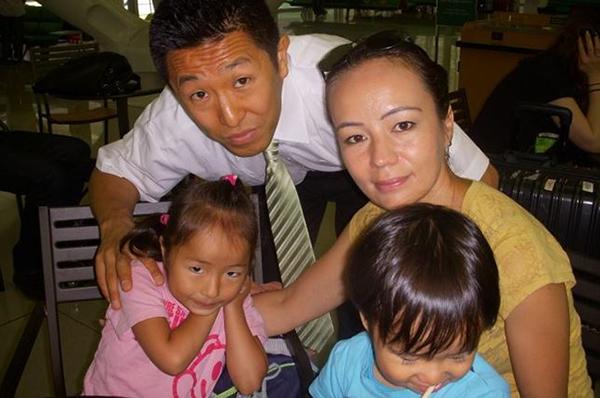 Toru Bove familjebild