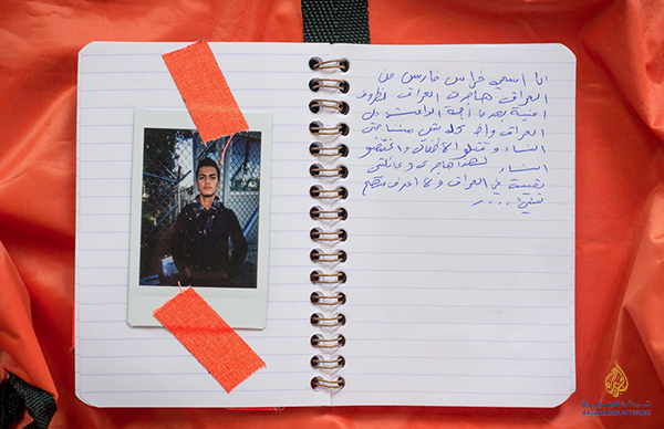Flykting-foto - Aljazeera