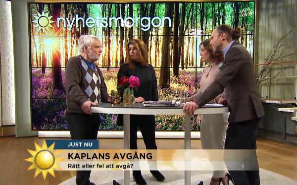 Mehmet Kaplan, 2016. Bild: TV4