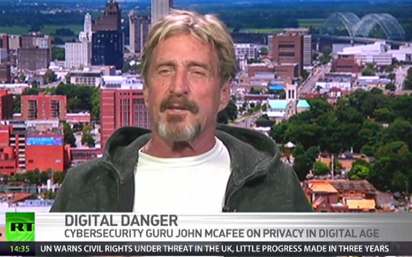 John McAfee säger att FBI kan öppna vilken smartphone de vill mha hårdvara