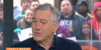 Robert De Niro, Vaxxed, Today.com