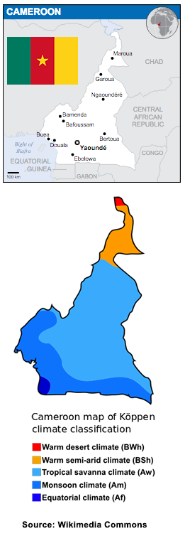 Cameroon facts - Wikimedia