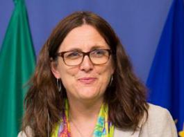 Cecilia Malmstrom - Foto: ec.europa.eu, pressphoto