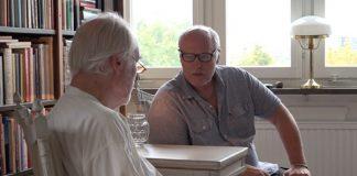 Erik Enby intervjuas av Börje Peratt. Foto: Sillén