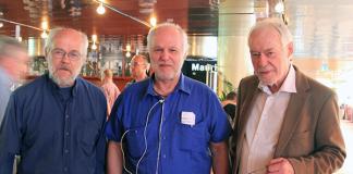 Ingemar Ljungqvist, Börje Peratt, Erik Enby - 24 maj 2016 - Foto: Anna Böhlmark