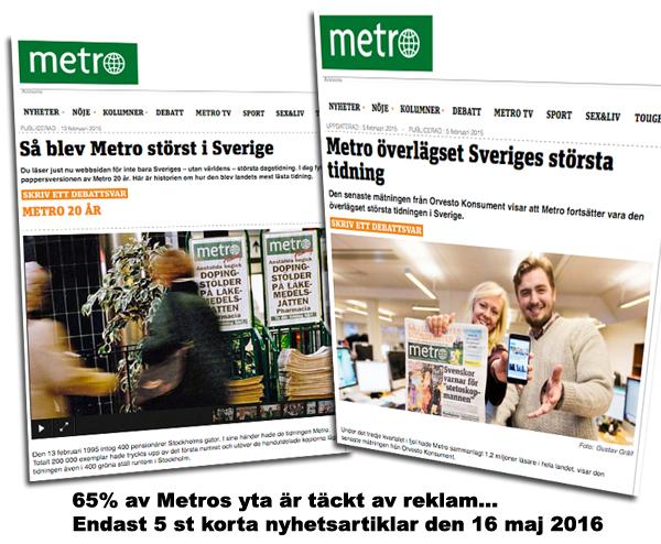 Metro artiklar från 2015