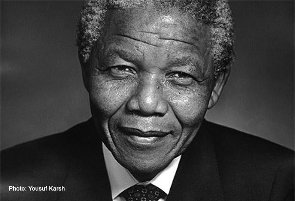 Nelson Mandela - Foto: Yousuf Karsh, Karsh.org