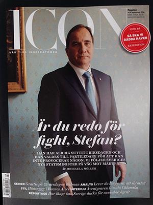 Stefan Löfven - Bild: Iconmagazine.se