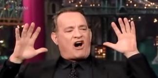 Tom Hanks on German Autobahn, 2012