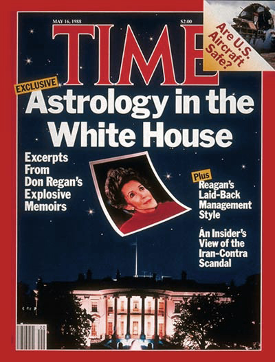 Astrology reagan TIME