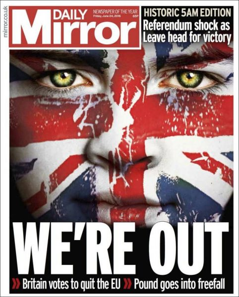 Brexit, Daily Mirror