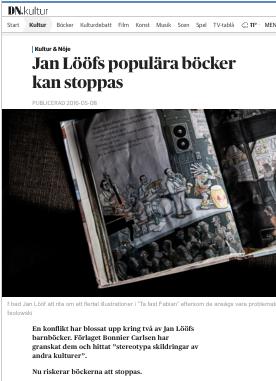 DN Jan Lööf barnböcker