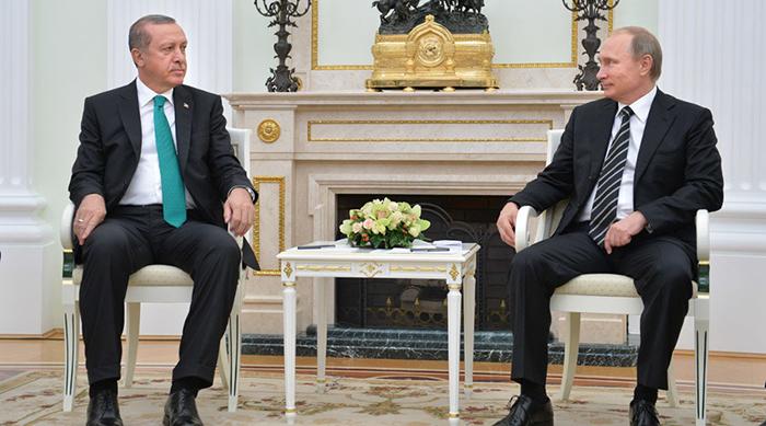 Erdogan Putin - Foto: Alexei Druzhinin, RIA Novostil