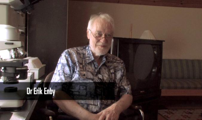 Dr Erik Enby - Foto: Lars af Sillén