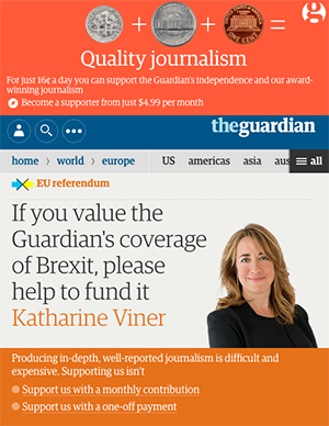 The Guardian needs crowdfunding