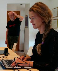Ingemar Ljungqvist och Anna Böhlmark 17 juni 2016 - Foto: Torbjörn Sassersson
