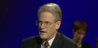 Ingvar Carlsson, 11 nov 1994, EU-debatt - Foto: Öppet Arkiv, SVT