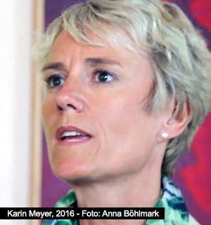 Karin Meyer - 9 juni 2016 - Foto: Anna Böhlmark
