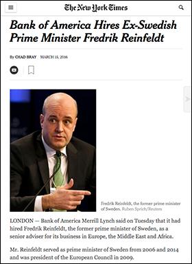 NYT-Reinfeldt