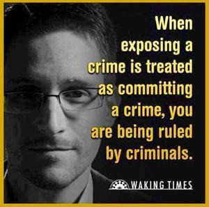 Snowden - Källa: Waking Times