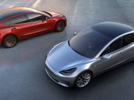 Tesla Model 3, pressfoto