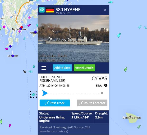 Militaryship: S80 Hayene, Deutchland