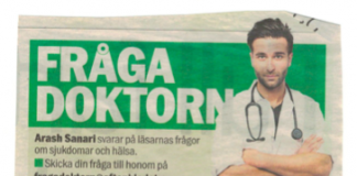 Arash Sanari (Fråga Doktorn, Aftonbladet), 2016
