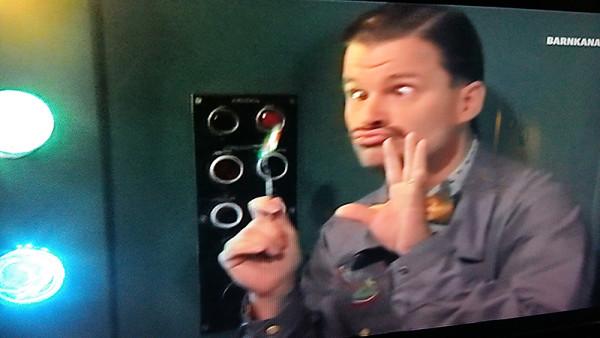 Barn-TV, bildruta från SVT Barnkanalen