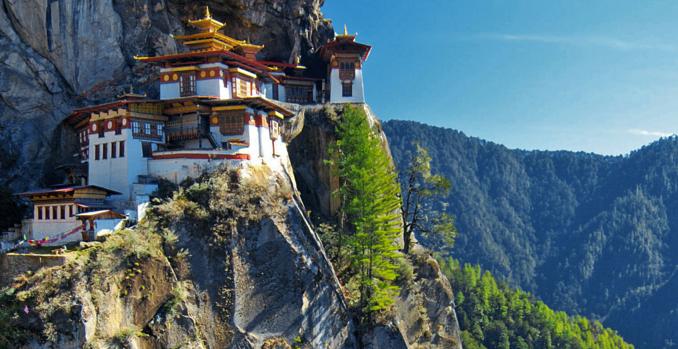 Bhutan - Källa: KingOfWallpapers.com