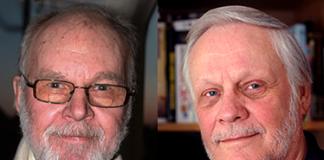 Jalo Rowéus och Christer Nilsson