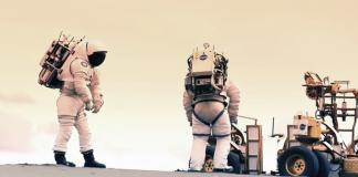 NASA Mars astronauts