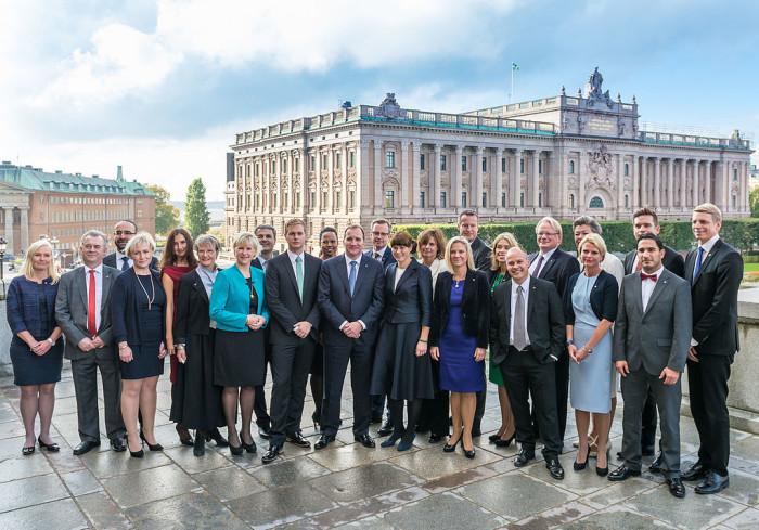 Stefan Löfvens regering, 2014 - Foto: Frankie Fouganthin, Wikimedia commons
