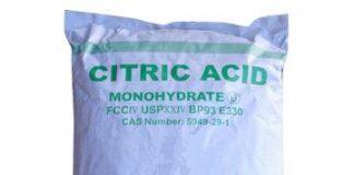 citric acid (citronsyra) monohydrate