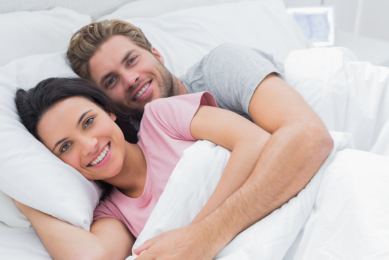 In bed - Crestock.com