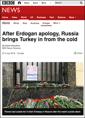 BBC - Erdogan Russia apology 2016