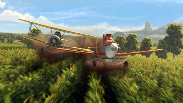 Dusty crop duster, Flygplan 1, Disney