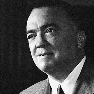 J. Edgar Hoover - Foto: FBI.gov