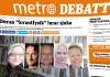 """VoF i Metrodebatt, kritik av """"kvantbok"""", 2016. Montage: NewsVoice"""