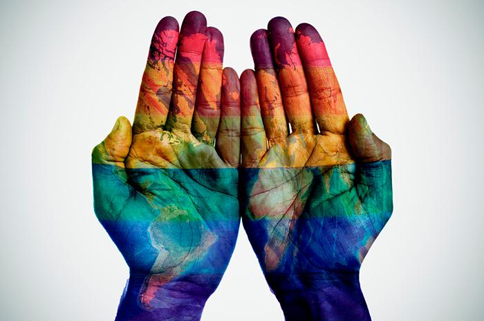 Gay-världen i Vattumannens tidsålder - Crestock
