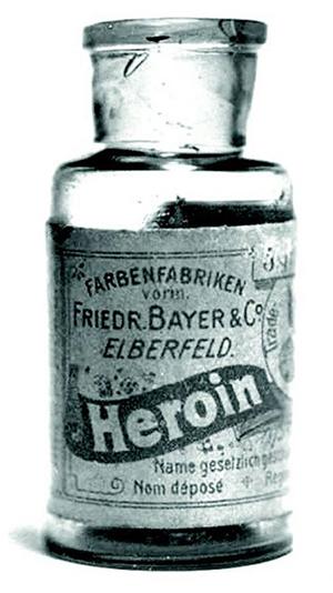 Bayer tillverkade heorin