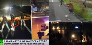 Calais, migrantrelaterat våld - RT.com